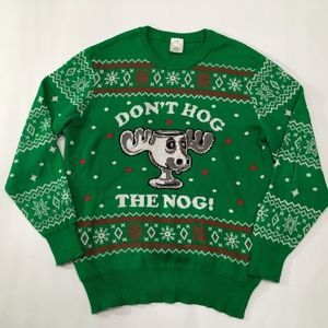 Christmas Vacation DON'T HOG THE NOG! Sweater
